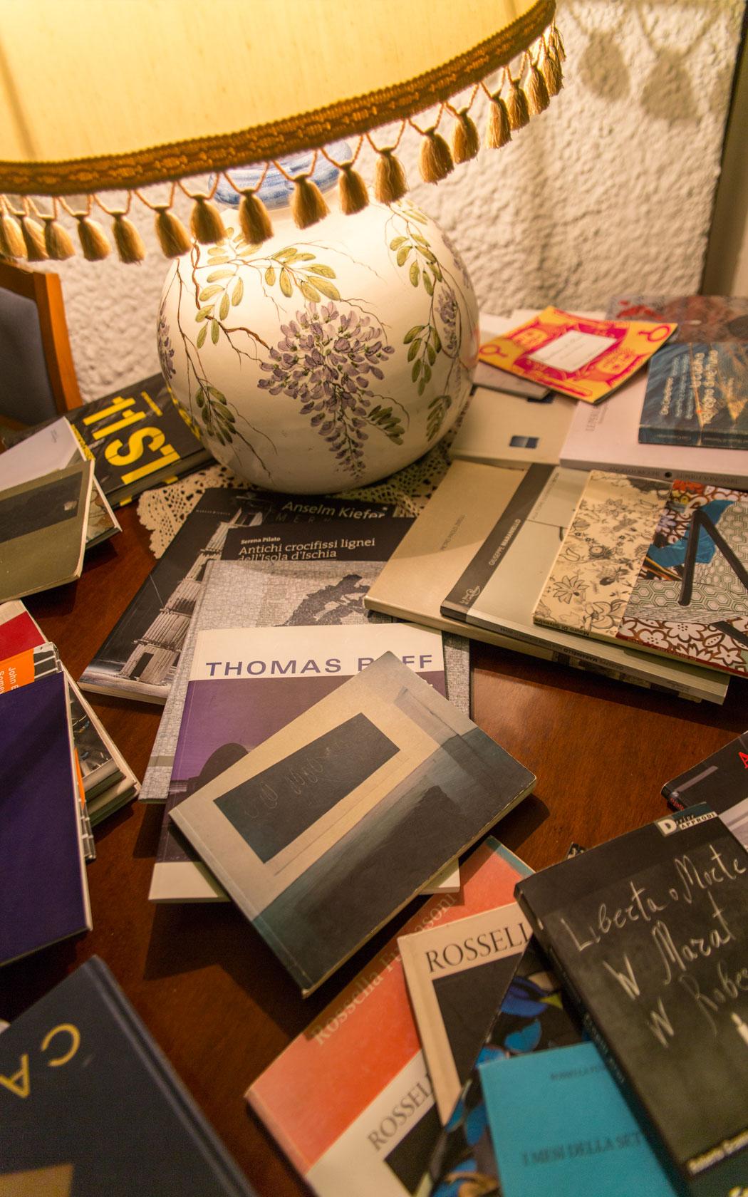 arte e libri al ristorante umberto a mare