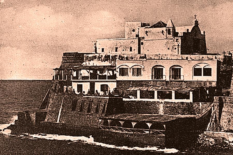 Immagine storica di Umberto a Mare ad Ischia