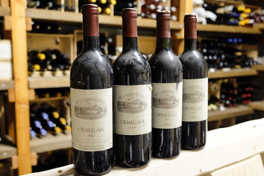 Carta dei vini di Umberto a Mare
